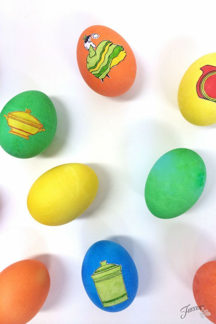 Download your very own custom easter egg printables for your Easter eggs.