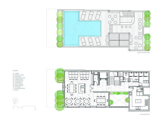 Hotel Golden Holiday in Nha Trang,Floor Plan