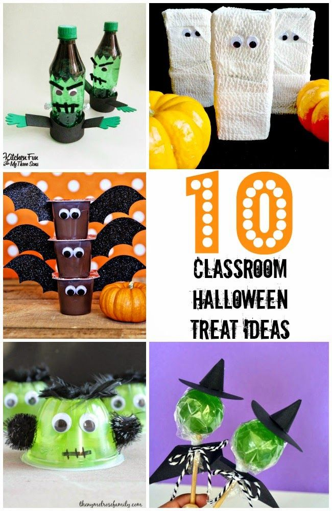 10 Store Bought Classroom Halloween Treat Ideas