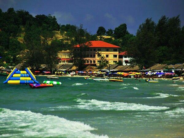 Sihanoukville Province ខេត្តព្រះសីហនុ Khaet Preah Sihanouk Preah Sihanouk Province Ochheuteal Beach
