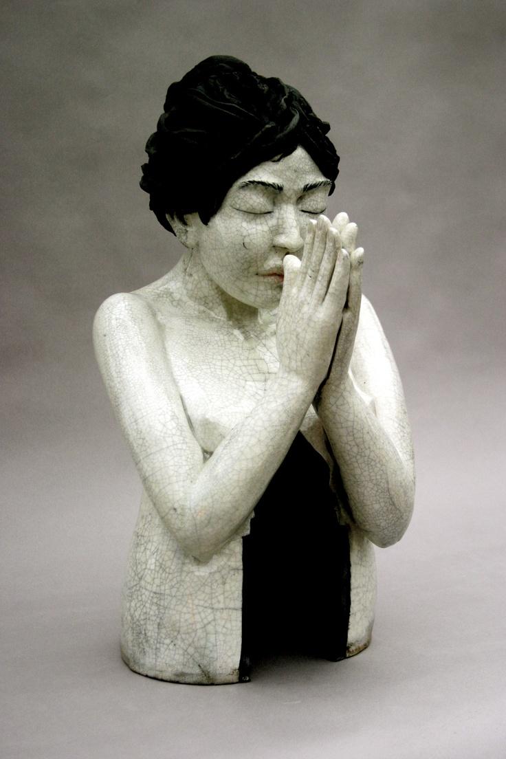 Temple/ Ceramic Sculpture  By LisaLeeSculpture.com