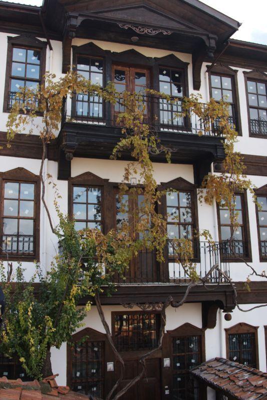 Kastamonu's Historical Houses; Ballik Mansion, Kastamonu, Turkey.