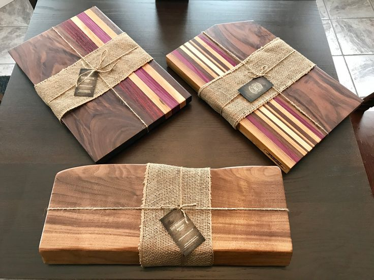 Cutting boards and Charcuterie board ready for cli…