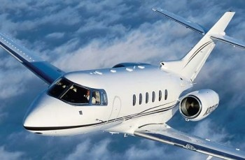 The Hawker 800 by Beechcraft is a private business jet developed by British Aerospace in demand for a more modern version of the popular 700. They redesigned the cockpit windscreen for greater visibility, which adds an extra layer of safety. In addition, improvements were needed to the aerodynamics of the aircraft to allow for greater range while maintaining the short distances needed for takeoffs and landings. It's one of the most sought-after business jet aircraft today. Seats 8-9.