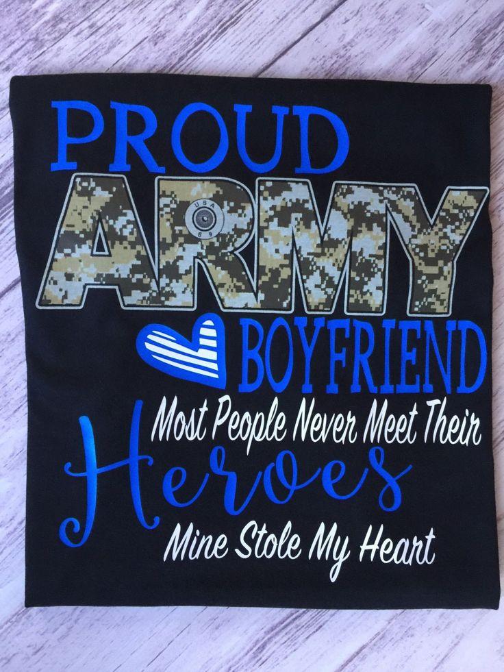 Proud Army Boyfriend Shirt, Army Shirt, Boyfriend Shirt, Military Homecoming Shirt