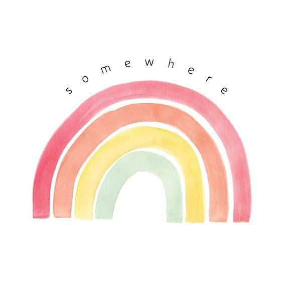 Somewhere Over The Rainbow Somewhere Over The Rainbow Print