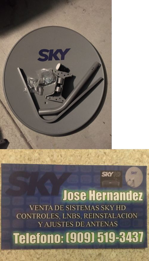 Satellite TV Receivers: Antena Sky Mexico Con Lnb -> BUY IT NOW ONLY: $55 on eBay!