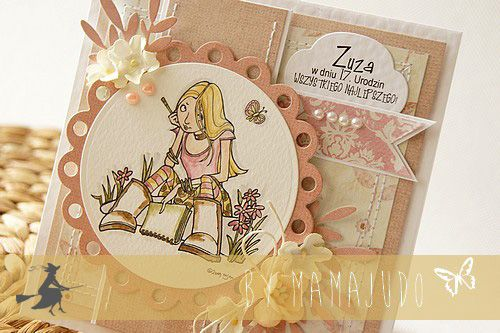 Card by Mamajudo / Magic moments paper collection by P13