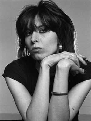 she could kick your butt with a word...best songwriter I have ever heard Chrissie Hynde