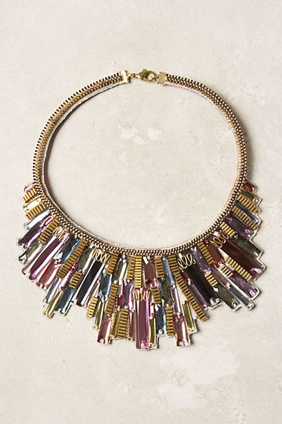 Metropolis Bib Necklace - Anthropologie.com. I REALLY want this!