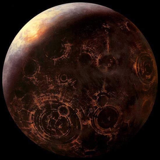Coruscant, capitol of The Republic / the Galatic Empire
