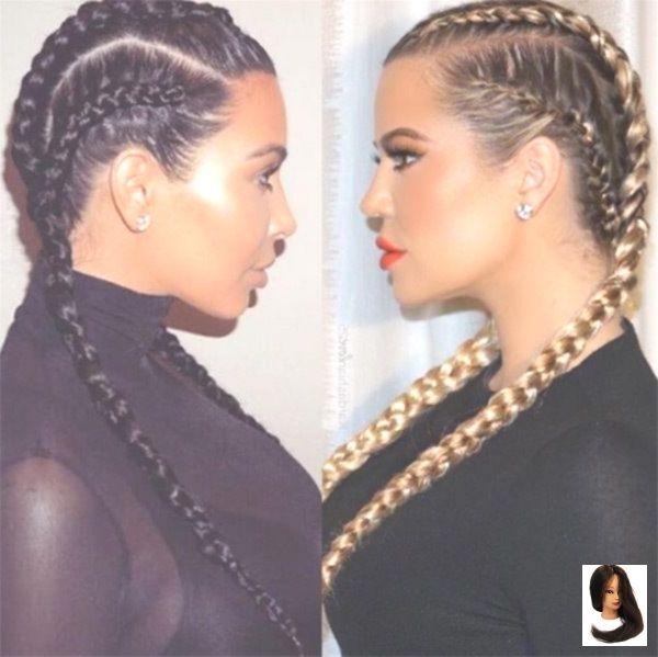 Tranças de Boxer de Khloe Kardashian – melhor que Kim Kardashian?