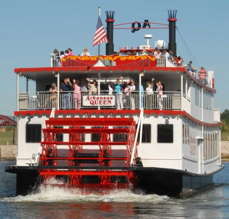 The #Arkansas Queen riverboat has 90-minute tours that float student groups down the Arkansas River as they learn about the area's rich history... #travel #studenttravel #grouptravel