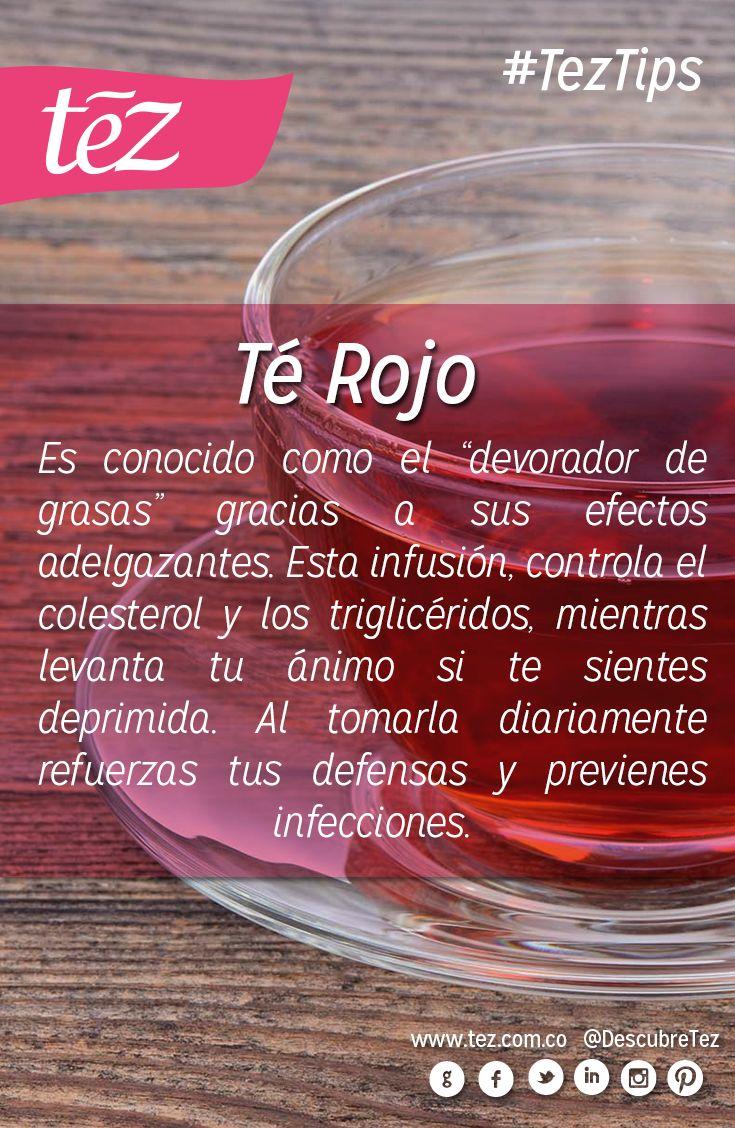 Beneficios del té rojo.