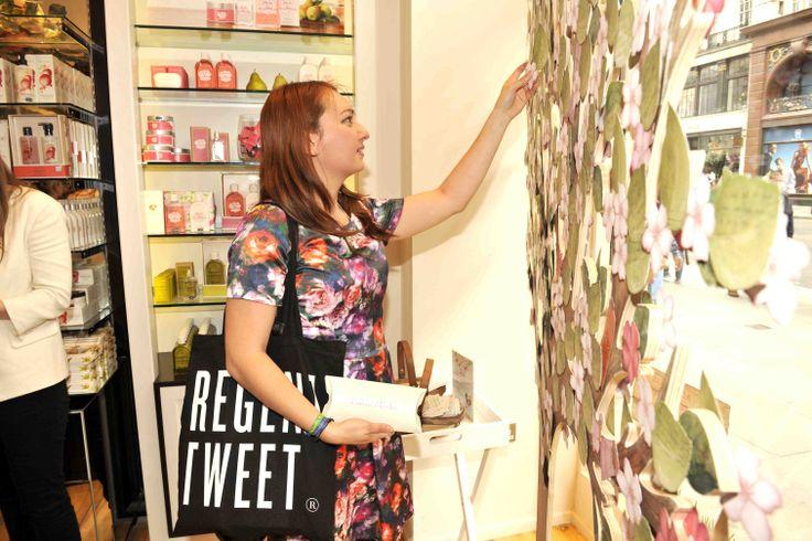 @Crabtree & Evelyn UK Handy Tips Handed Down at #RegentTweet