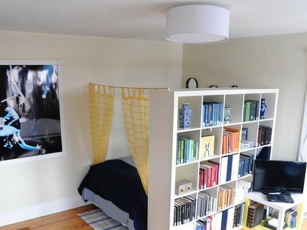 Meer dan 1000 idee n over studio inrichten op pinterest studio appartementen appartementen en - Inrichten van een kleine volwassene slaapkamer ...