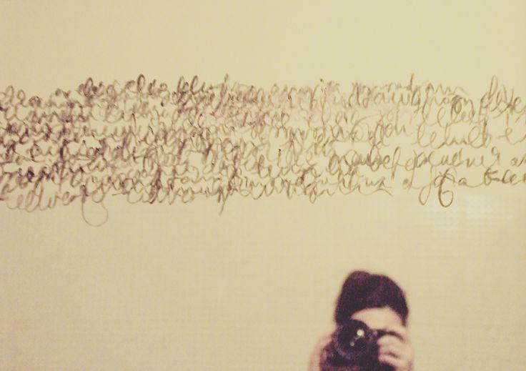 Zsuzsi Csiszer, text, draw, writing, mirror, bathroom, withlipstick, lipstick