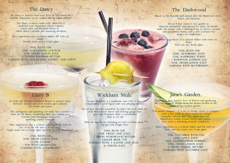 The Canary Gin Bar — The Bath Gin Company @ The Canary Gin Bar