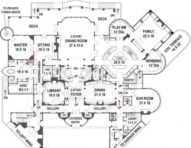 The 25 Best Castle House Plans Ideas On Pinterest