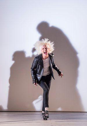Jane Horrocks as Regan. King Lear at the Old Vic, 2016.