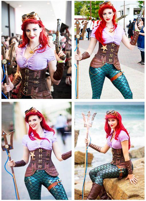 Steampunk Ariel love it!