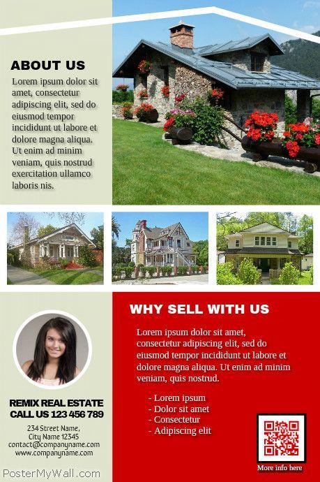116 best images about Real Estate Flyer (DIY) on Pinterest ...