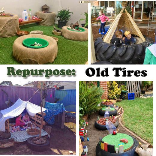 451 best images about things to do with old tires on for What to do with old tires