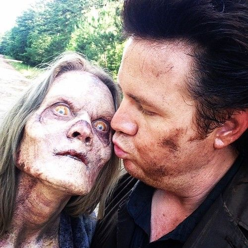 Trying to get some love from literally ANYONE… #Mullet #Eugene #TWD @amcthewalkingdead