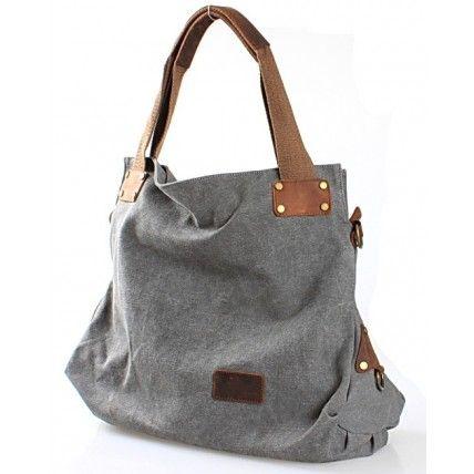 #14 NOMORE™ Canvas - leather shoulder bag