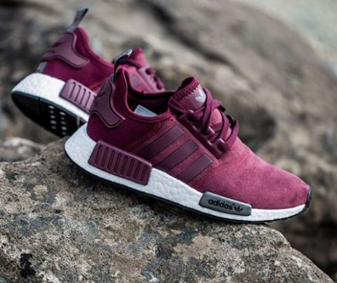 adidas originals nmd burgundy shoes pinterest. Black Bedroom Furniture Sets. Home Design Ideas