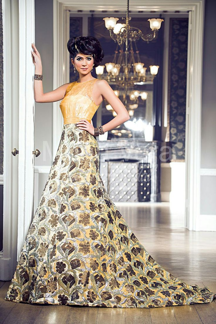 12 best indian dresses images on Pinterest | Indische brautmode ...