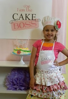 Cake decorating party  Tons of cute ideas, printables, etc.