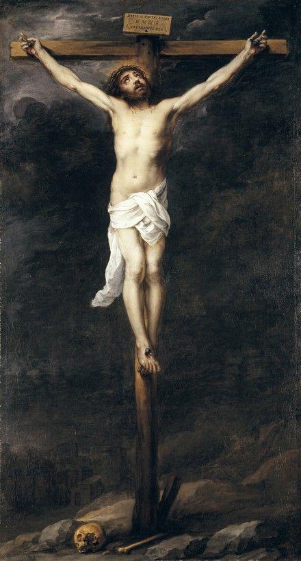 Ο Χριστός στο σταυρό (1660-70) Μουσείο Τέχνης Timken στο Σαν Ντιέγκο Αμερικής