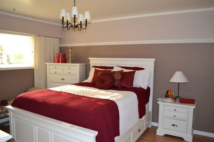78 Best Ideas About Red Accent Bedroom On Pinterest