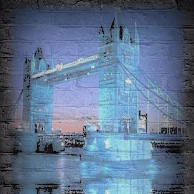 Tower bridge on a wall !!!