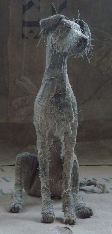 dog scuptures Helen Thompson 4