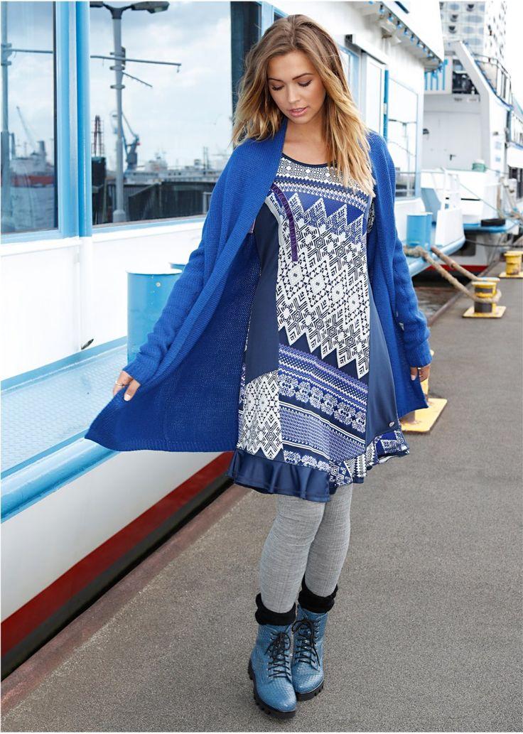 Sukienka w różne desenie Dekoracyjne • 139.99 zł • bonprix