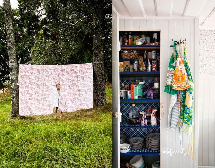 HOME & GARDEN: La maison d'été de la famille Jansch