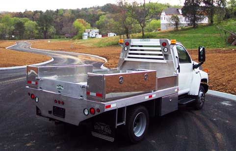 Aluminum Truck Beds by Bull Head - Chevy/GMC 4500 & 5500 - The Aluminum Truck Bed - Beefed Up - A Cut Above the Rest