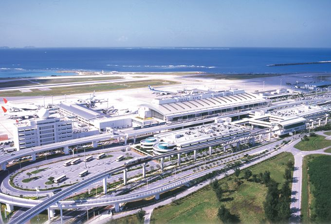 Naha International Airport, Naha, Okinawa, Japan - 2007