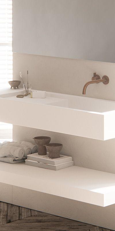25+ beste ideeën over koperen badkamer op pinterest, Badkamer
