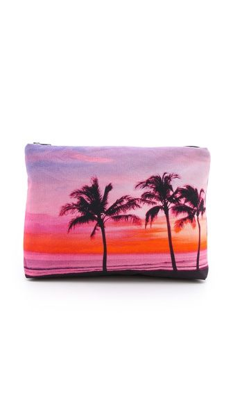 Samudra Coco Palms Pouch {going crazy over this clutch!}