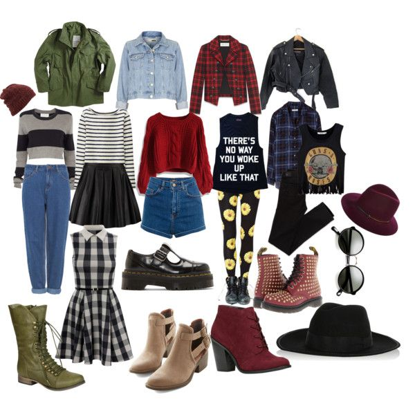 """Punk/ Grunge Fall indie outfits"" by thelovelymonalisa on Polyvore grunge wardrobe staples"