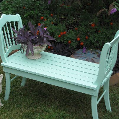 What an awesome idea! Need to find some old chairs!