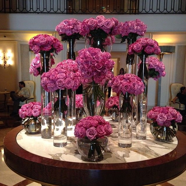 Beverly Wilshire Hotel - wedding flowers