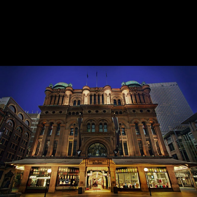 Queen Victoria Building in Sydney...shopping anyone?