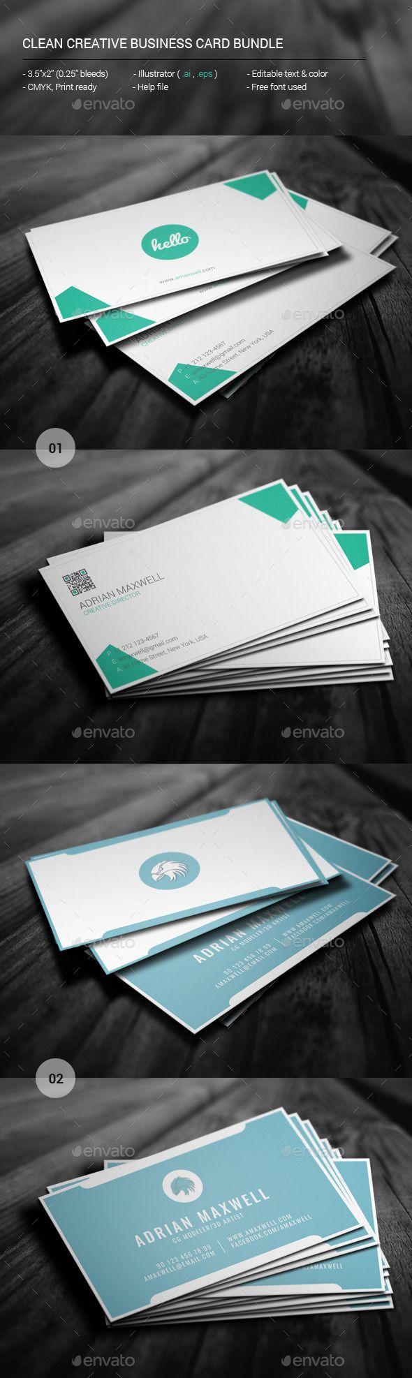 80 Best Name Card Design Images On Pinterest Business Cards