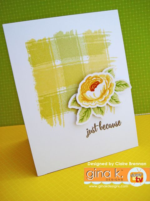 ...May 2016 Tiny Textures Incentive set Blog Hop | Waltzingmouse Makes... using the tiny textures Incentive set and my Old Country Roses set from Gina K Designs here: http://www.shop.ginakdesigns.com/product.sc?productId=2526&categoryId=16 #stamping #craft #card #cardmaking #handmade #GKD #handmadecards #greetingscard #rose #roses