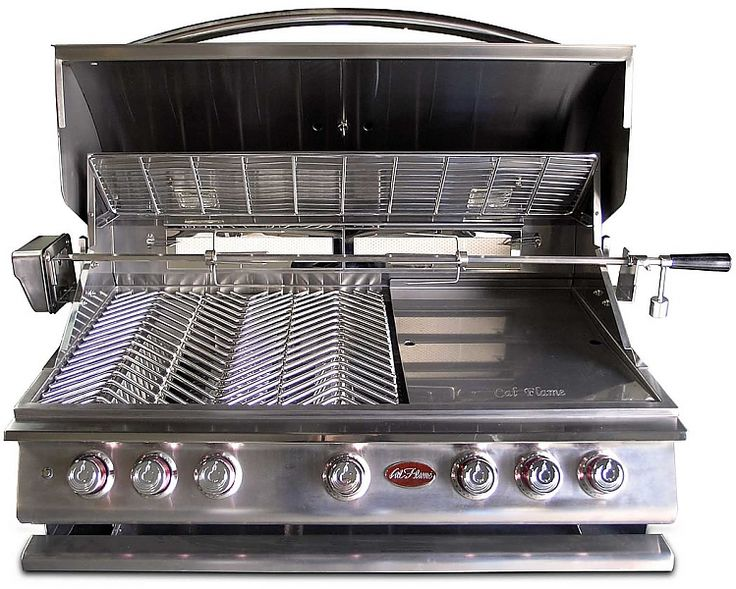 Cal flame free accessories package 5burner bbq builtin