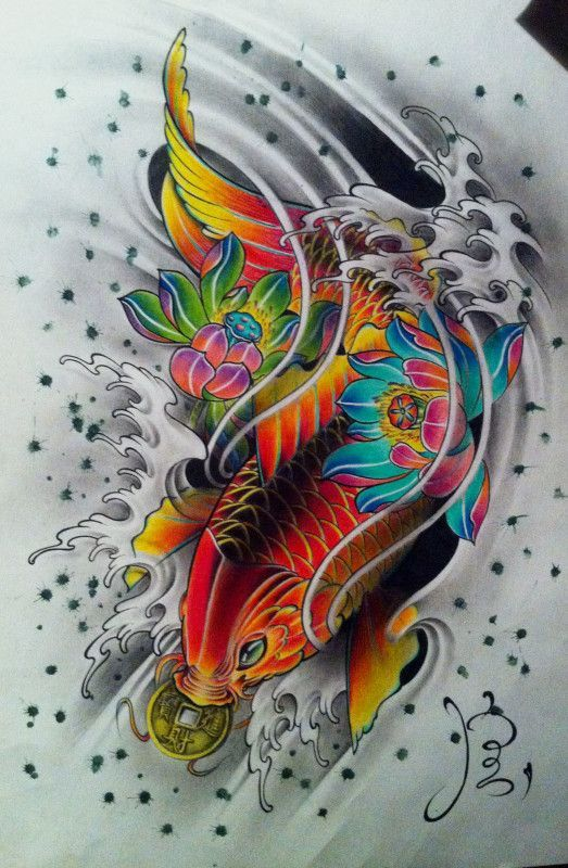Resultado de imagen para tatuajes koi